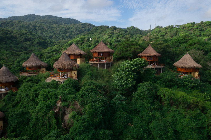 cañaveral Ecohabs tayrona park colombia