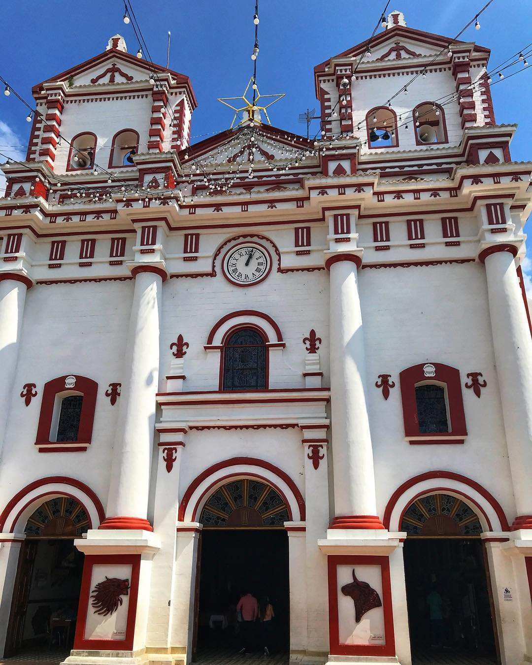 church of guatape colombia @johndedenghy